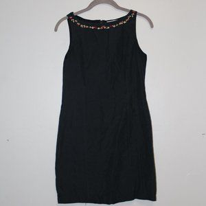 Vintage Petite Sophisticate LBD with Roses